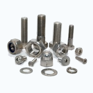 Stainless Steel nuts and bolts with washers and fasteners