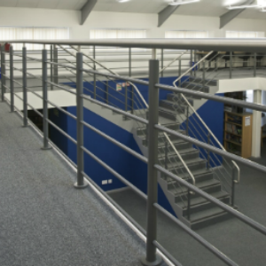 Stainless Steel Balustrade inside building