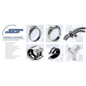 Norma Group logo hose clamps