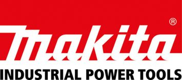 Makita Logo Industrial Power Tools Red on white background