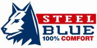 Steel Blue Logo 100% comfort