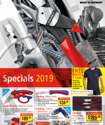 Knipex Promotion Aug-Sep